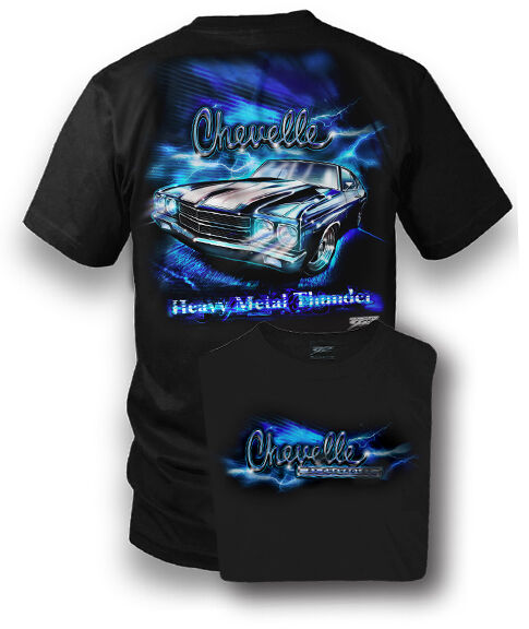 Wicked Metal - Heavy Metal - Chevelle - Muscle Car T-shirt ...