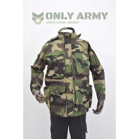 img-French Army CCE Camo Jacket Smock Woodland Ripstop Special Ops HIGH QUALITY
