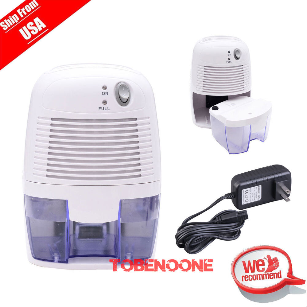 Mini small air dehumidifier perfect for home bedroom kitchen bathroom car to ebay for Small dehumidifier for bedroom