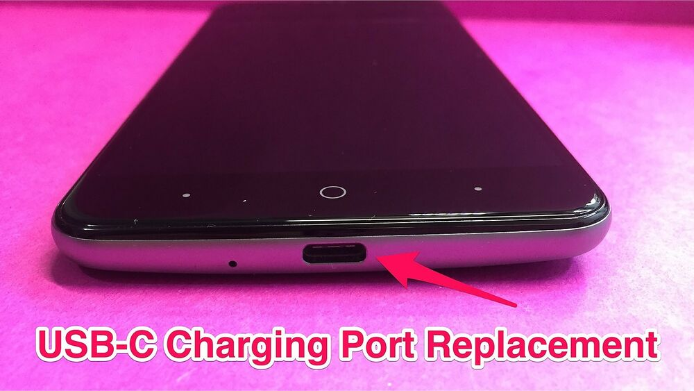 device zte grand x max 2 charger contact