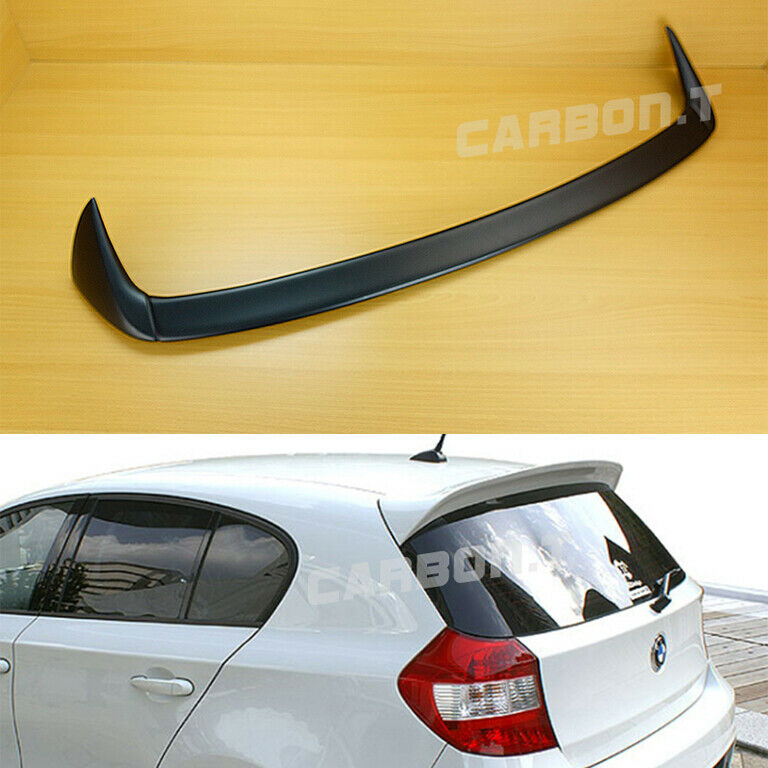 painted a type roof trunk spoiler for bmw 1 series e87 5d. Black Bedroom Furniture Sets. Home Design Ideas