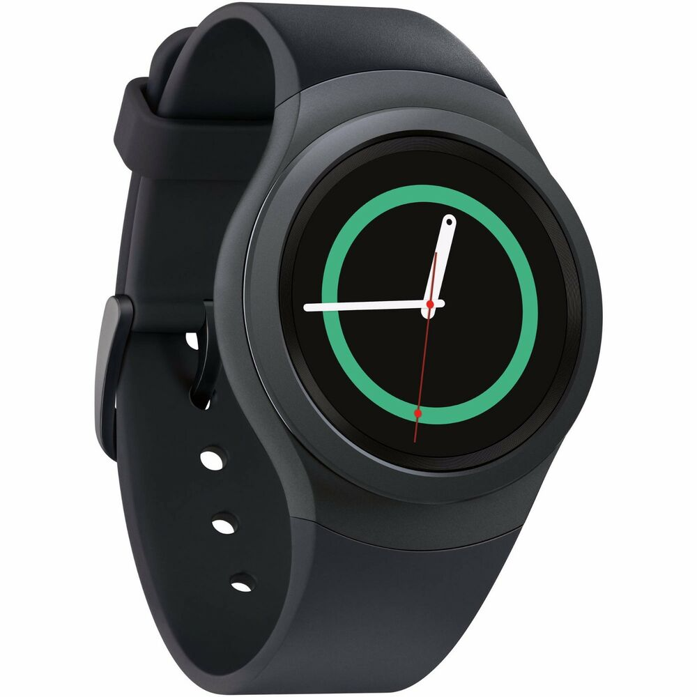 NEW INBOX Samsung Gear S2 SM-R730A 4G Black /Dark Grey ...