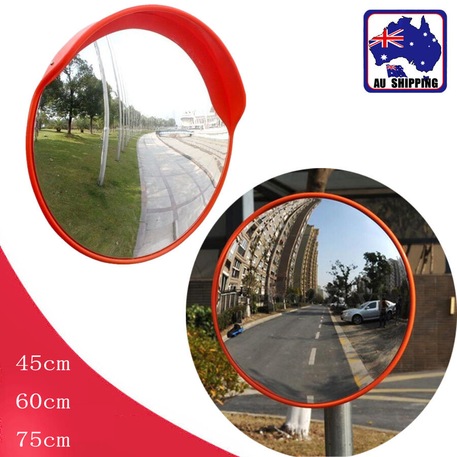 45 60 75cm wide angle mirror security curved convex road for Mirror 60cm wide