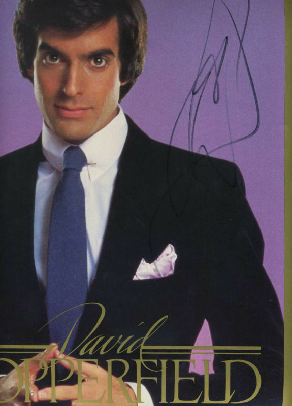 Magician From The Crystal Visions Tarot: Magician David Copperfield Collectibles 130 Items; Big