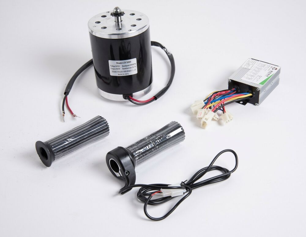 500 w 36 v dc electric 1020 motor kit w speed control for Speed controllers for electric motors