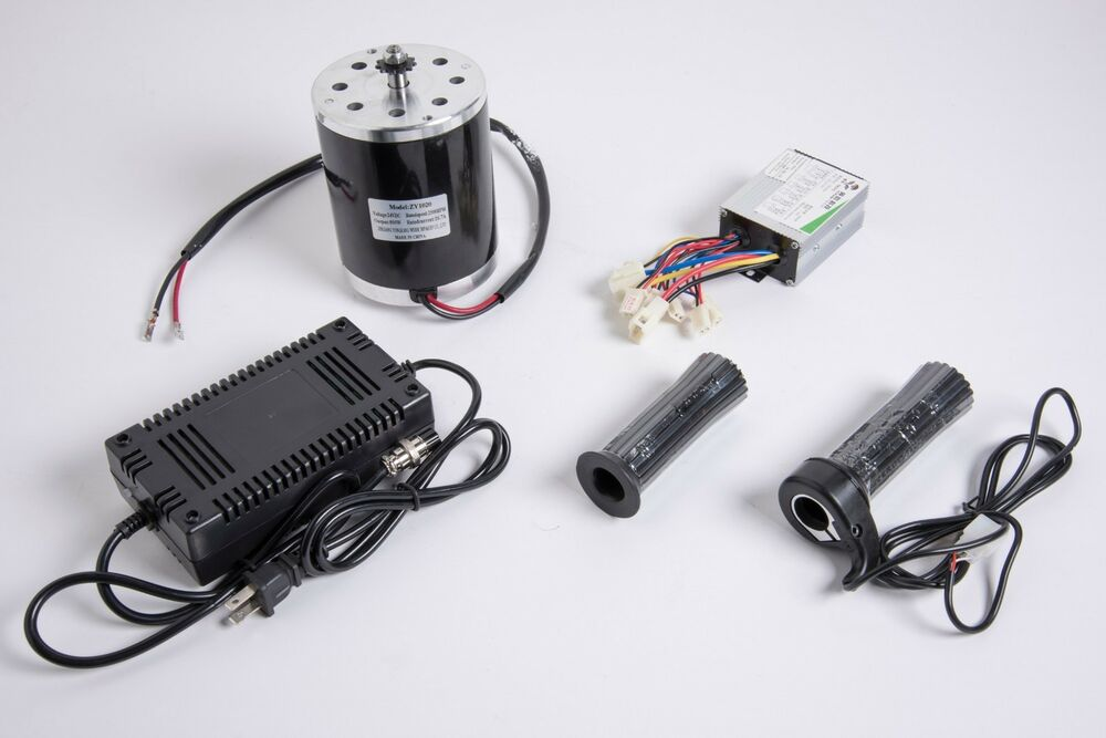 500w 36 V Electric 1020 Motor Kit W Speed Control Throttle Charger F Scooter Ebay