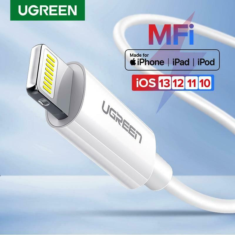 Ugreen New Apple Lightning Mfi Data Sync Cable Genuine For Iphone