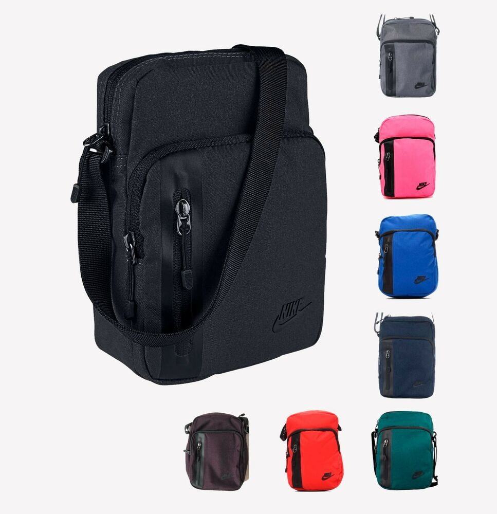 2062cd251e new style 7f513 daf9f Nike Tech Small Items Shoulder Bag Black BA5268 eBay   competitive price 49102 687af Oneline QQ863A Premium PU Leather Briefcase  ...