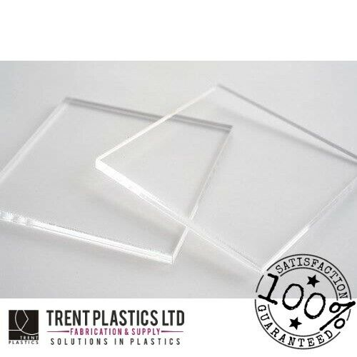 Clear Acrylic Perspex Sheet Custom Cut To Size Panels