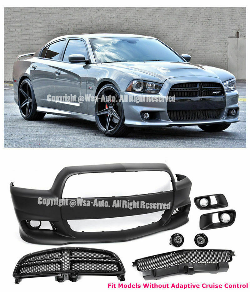 srt8 style front bumper conversion dodge charger 11 14. Black Bedroom Furniture Sets. Home Design Ideas