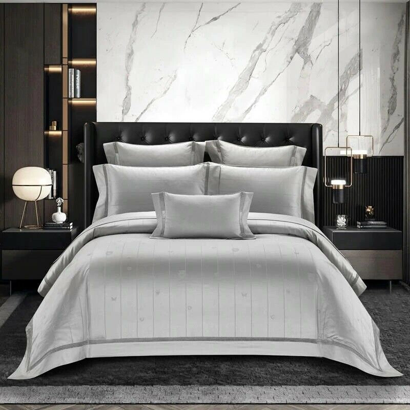 Cyber Monday Special Royal Luxury Silk Cotton Duvet Cover
