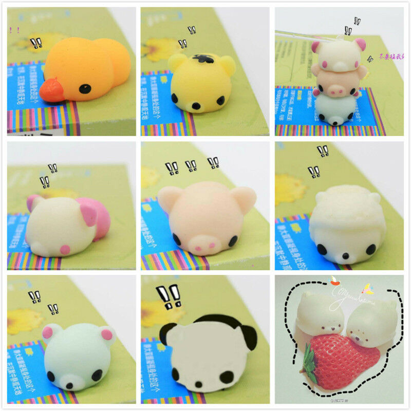 Kawaii 3D Animal Sea Lion Mochi Squeeze Kids Toys Gift Soft Press Doll Squishy eBay