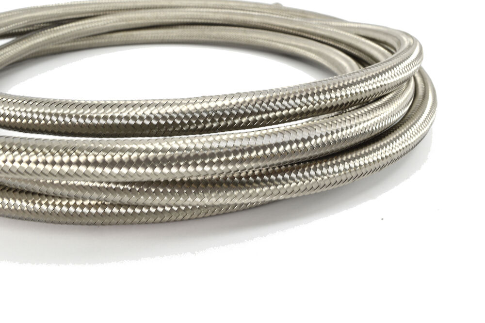 Braided Coolant Lines : Foot an stainless steel braided hose for fuel oil
