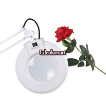 Desk Clamp MAGNIFYING LAMP BEAUTY Adjustable FACIAL MAGNIFIER 22W USA