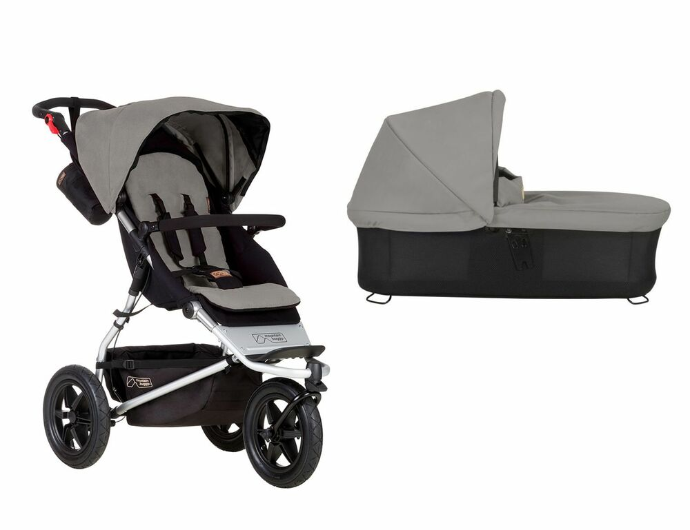 mountain buggy urban jungle silber grau kinderwagen buggy. Black Bedroom Furniture Sets. Home Design Ideas