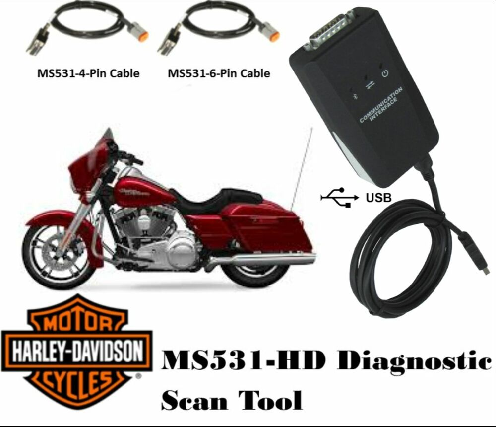 ms531 hd harley motorcycle scan tool diagnostic scanner. Black Bedroom Furniture Sets. Home Design Ideas
