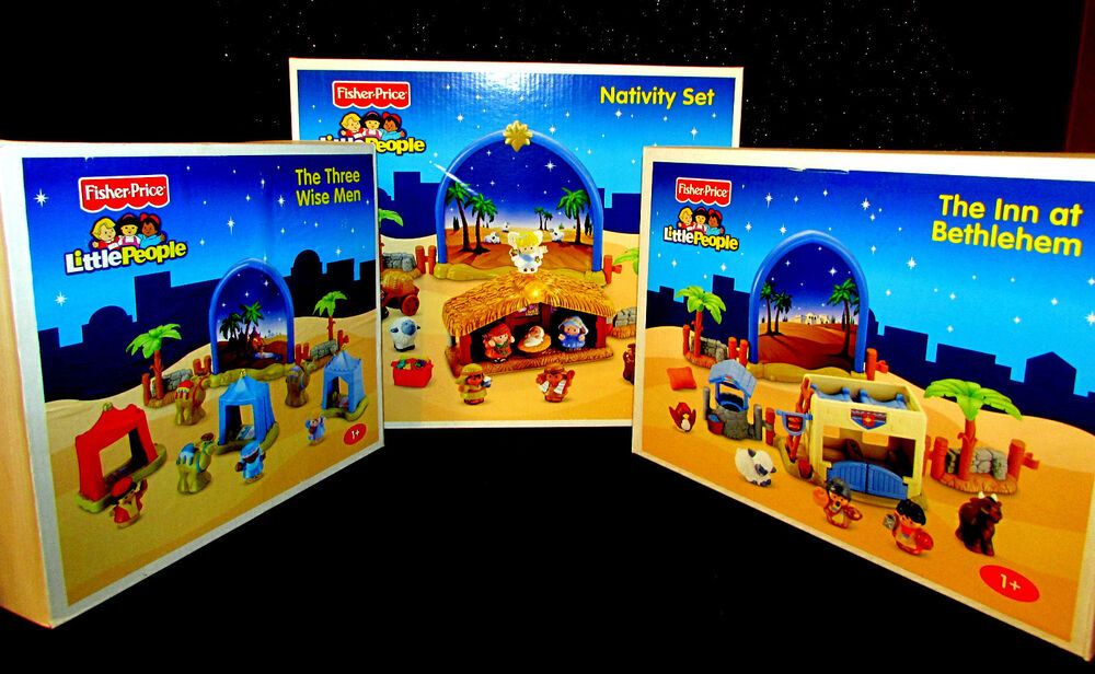 Fisher Price Little People Nativity Set A Little People Christmas