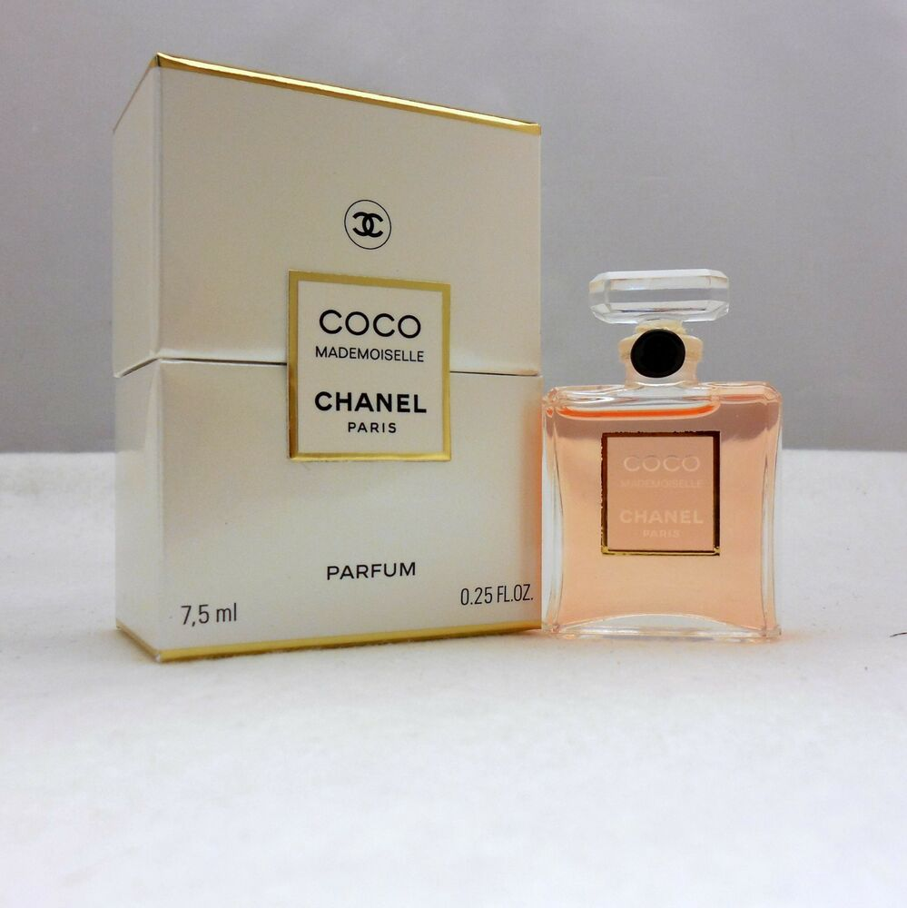chanel coco mademoiselle parfum 7 5 ml oz. Black Bedroom Furniture Sets. Home Design Ideas