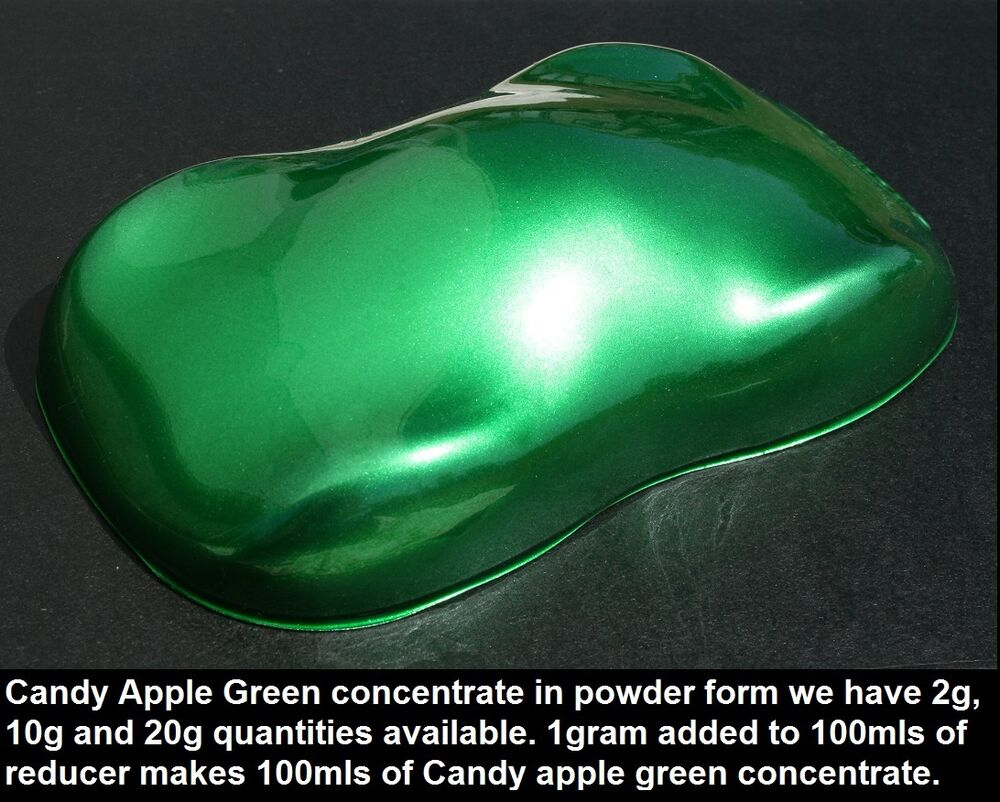 Candy Green Car Paint For Sale