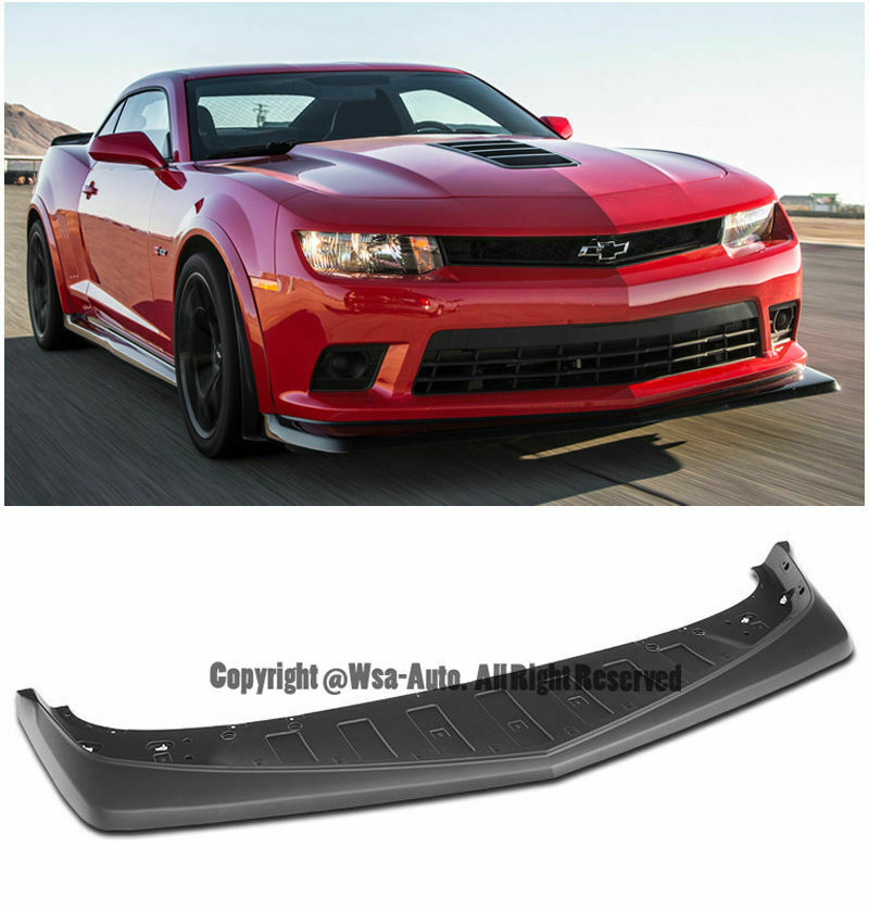 z28 style front bumper lip chevy camaro 2014 2015 lower. Black Bedroom Furniture Sets. Home Design Ideas