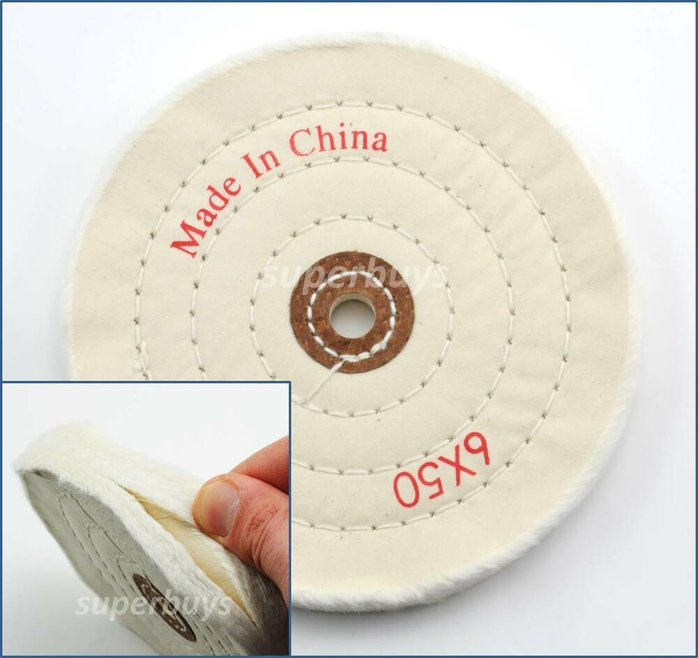 150mm Cloth Polishing Buffing Wheel Cleaning Pad Power