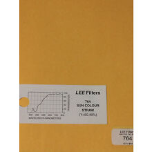 Lee Filters L764 Sun Colour Straw Lighting Gel Sheet  21