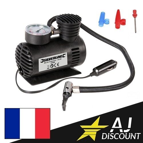 compresseur d 39 air portable 12v mini gonfleur de pneu auto prise allume cigare ebay. Black Bedroom Furniture Sets. Home Design Ideas