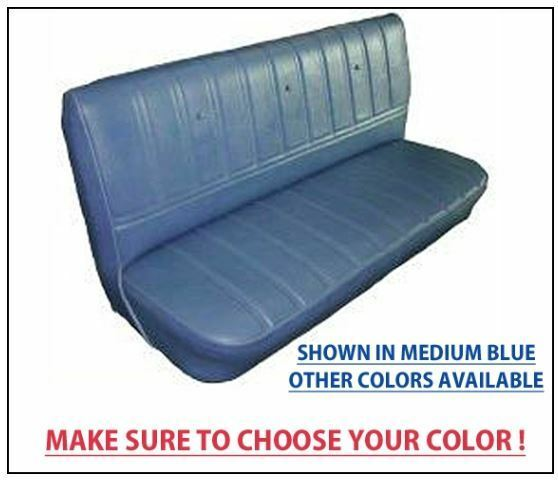 Chevrolet Gmc Truck Seat Covers Factory Replacement 1973