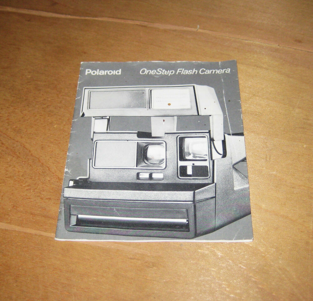 polaroid one step flash camera instruction manual ebay Polaroid SX-70 One Step polaroid onestep 600 user manual