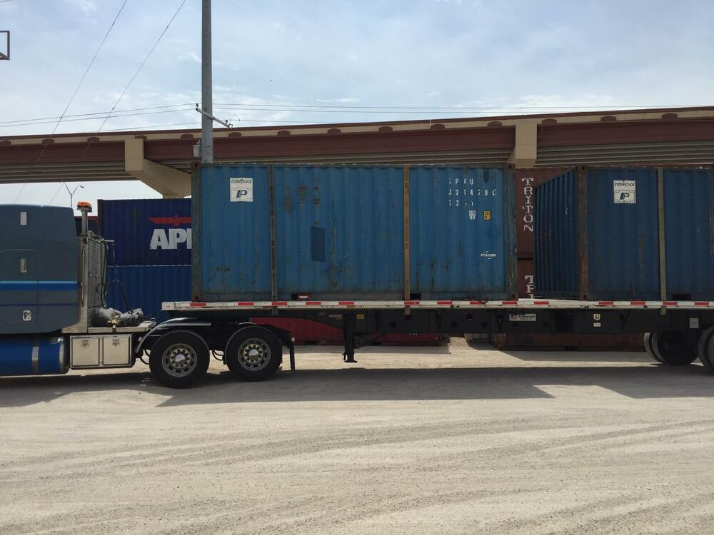 20ft shipping container storage container conex box in - Container homes chicago ...