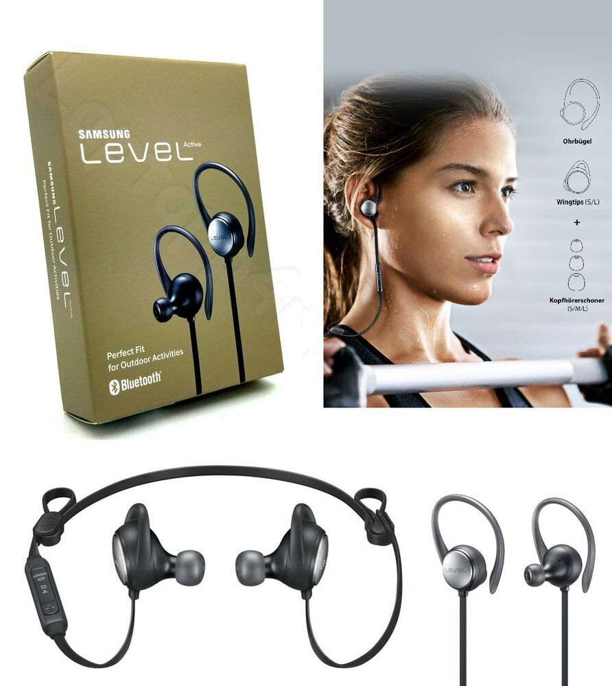 Genuine Samsung Level Active Wireless Bluetooth Headset Galaxy S9 Plus S9 S8 S7