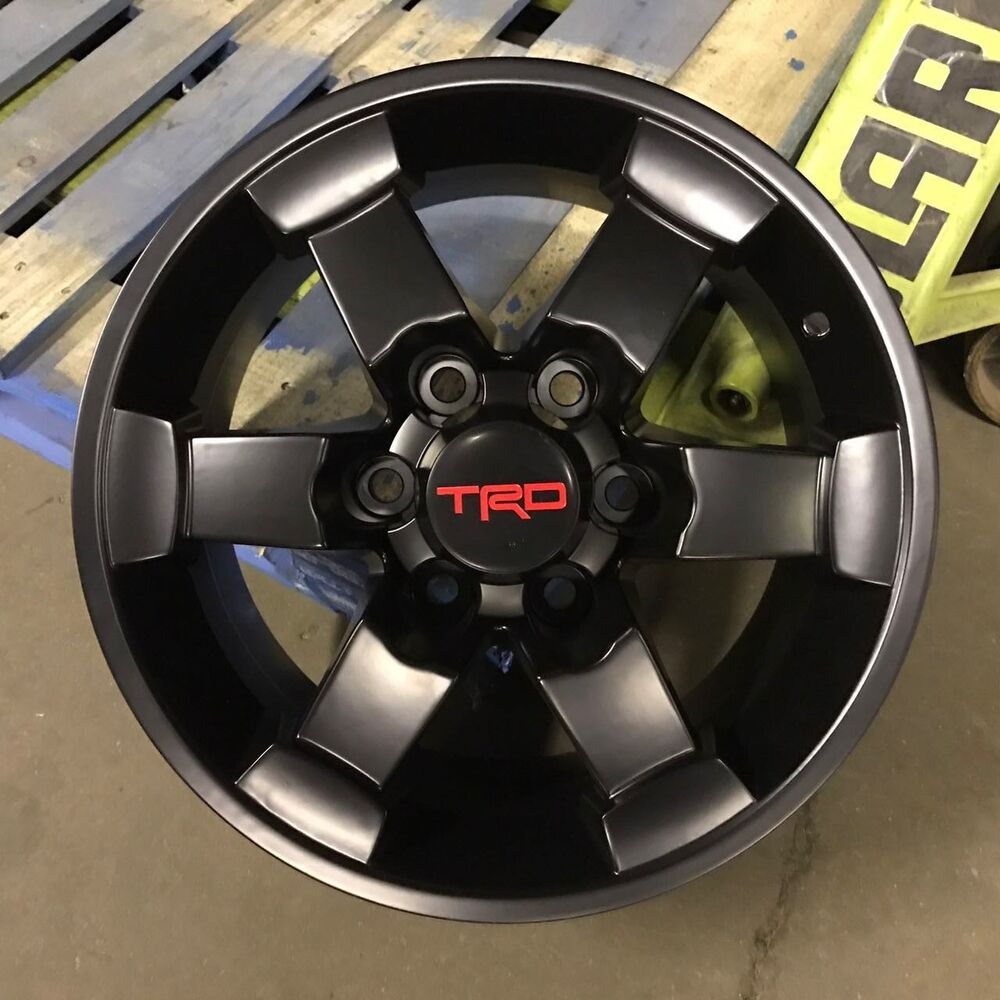 16x8 Wide 6x139 4x4 Off Road Wheels Trd Style Fits Fj