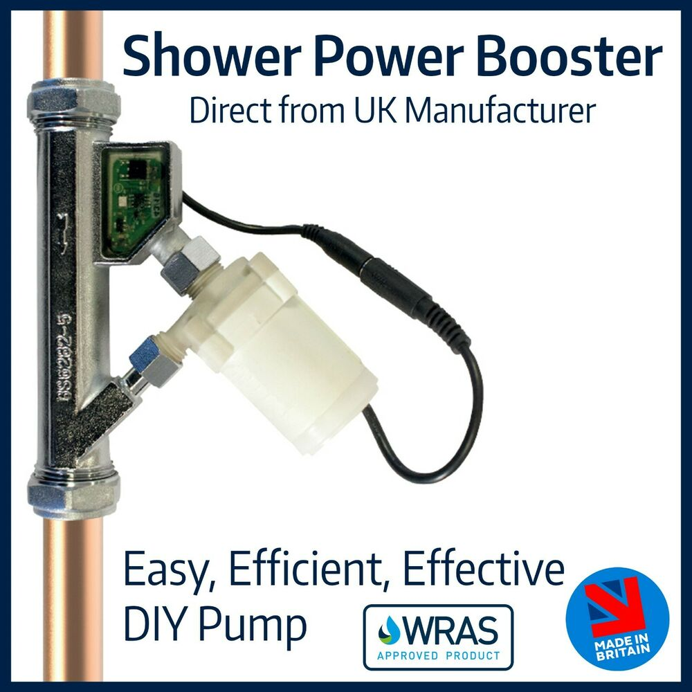 Shower Power Booster Fully Automatic Quiet In Line Pump