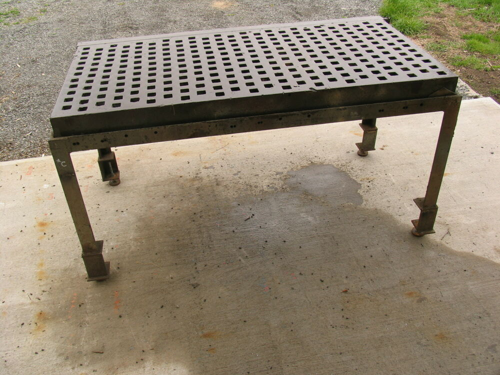 3 X 6 Acorn Type Welding Platen Layout Table W Stand