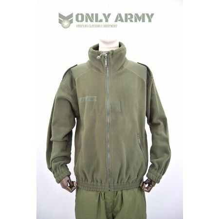 img-French Army ECW Fleece Jacket Extreme Cold Weather Arctic Fleece Plush Soft NEW