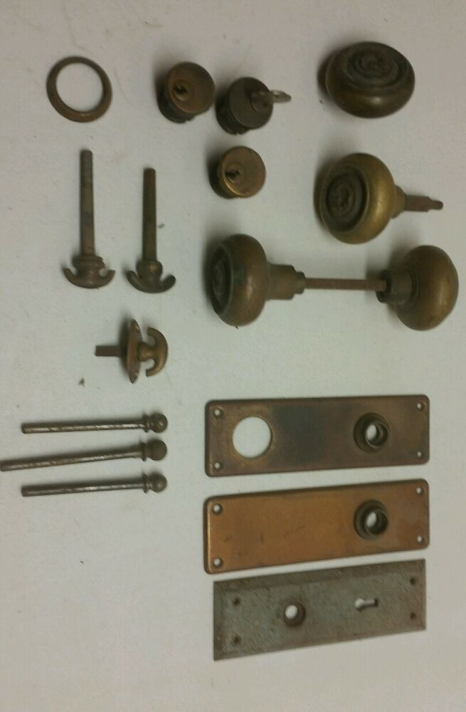 Vintage Lot Door Hardware Knobs Sargent Amp Co Ornate Locks
