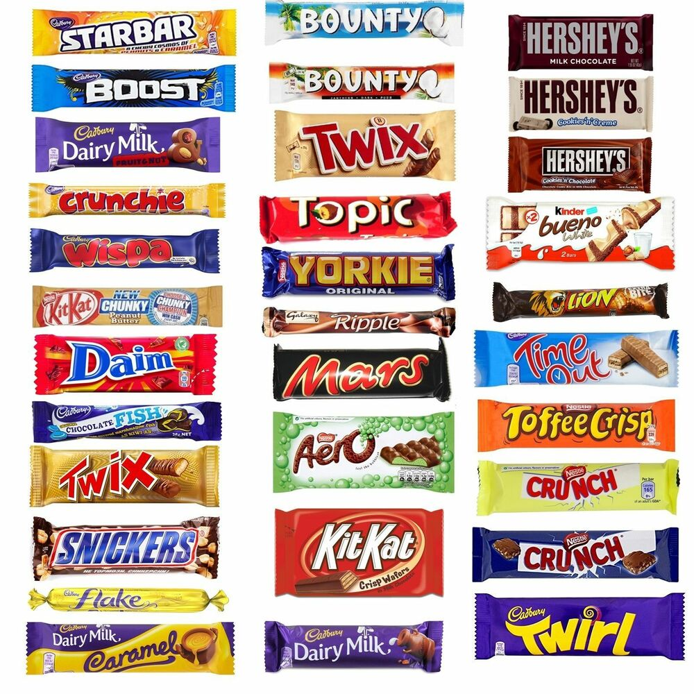 20 X Multipack Chocolate Lovers Assorted Chocolate Box Bar