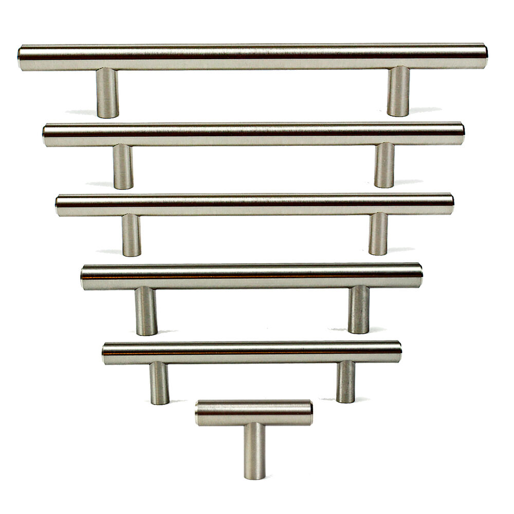 2 5 6 7 8 stainless steel t bar handles kitchen for 5 kitchen cabinet pulls
