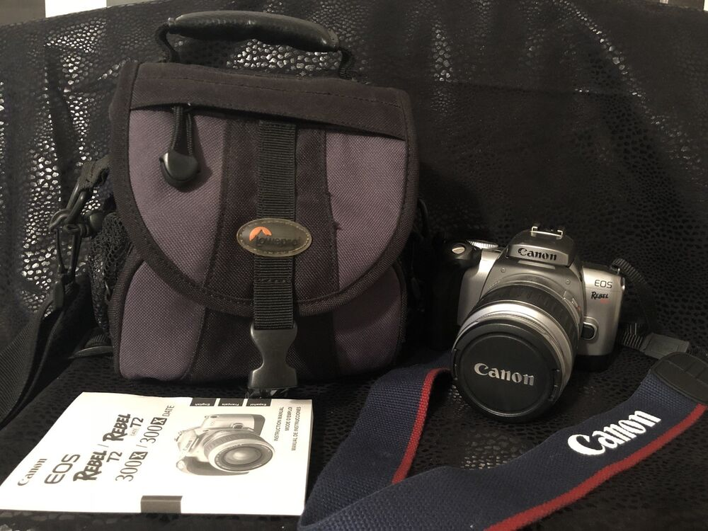 canon eos rebel t2 300x 35mm slr film with lens ebay rh ebay com canon rebel t2i manual mode canon rebel t2i manual