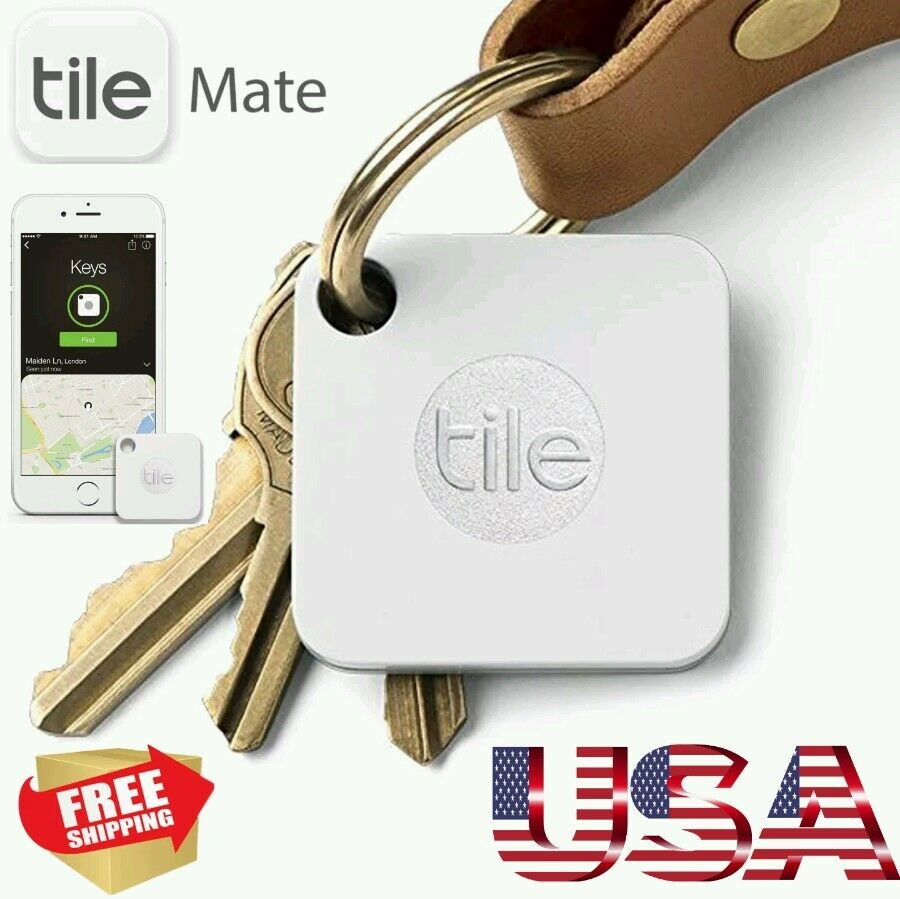 New Tile Mate 25 Small Bluetooth Gps Tracker Locator Key