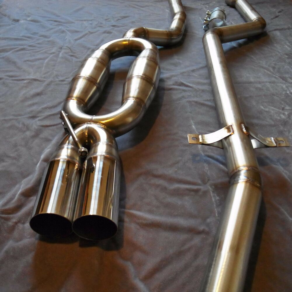 bmw e46 330d stainless steel 60mm straight pipe exhaust ebay. Black Bedroom Furniture Sets. Home Design Ideas