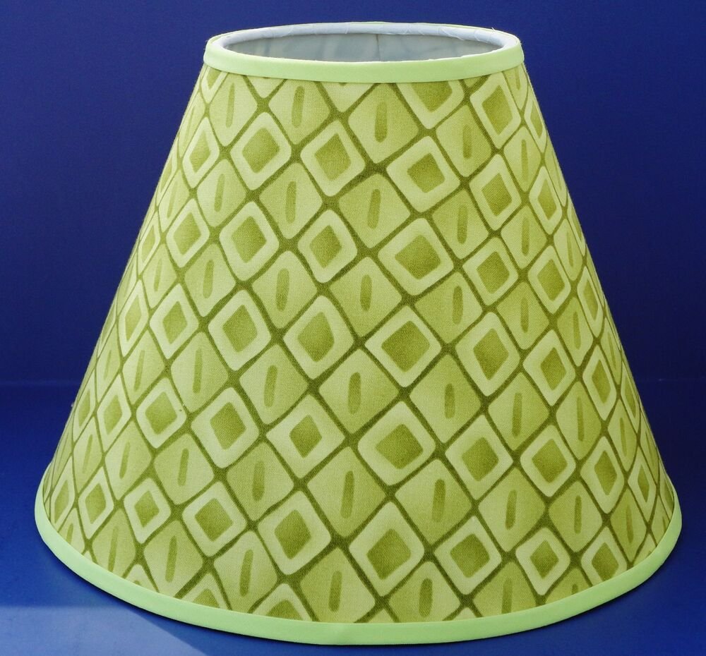 Green Diamond Lamp Shade Handmade Lampshade | eBay