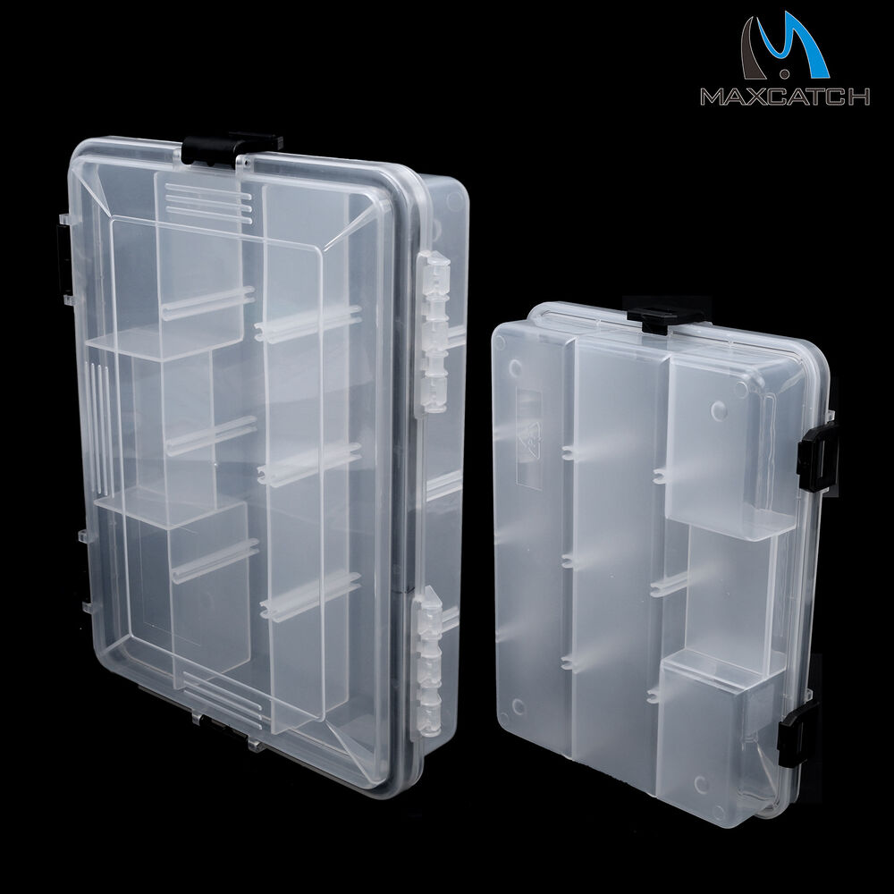 Fishing lure box tackle boxes case jig hook bait storage for Fishing hook storage