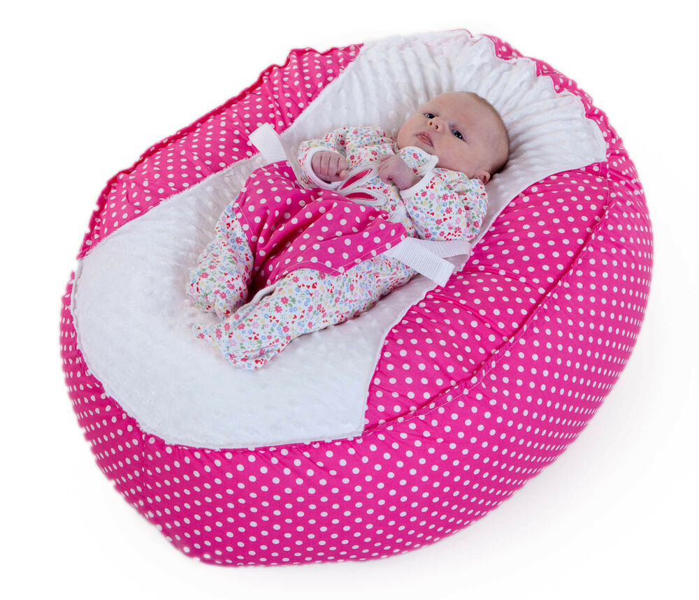 Baby Bean Bag Chair New Unique Design Pink