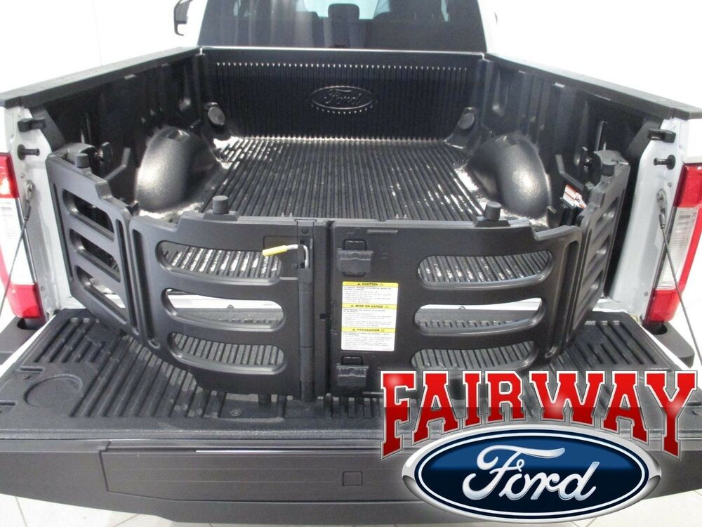 Tool Box For Truck Bed >> 17 thru 18 Super Duty F-250 F-350 OEM Genuine Ford Stowable Bed Extender Kit NEW | eBay