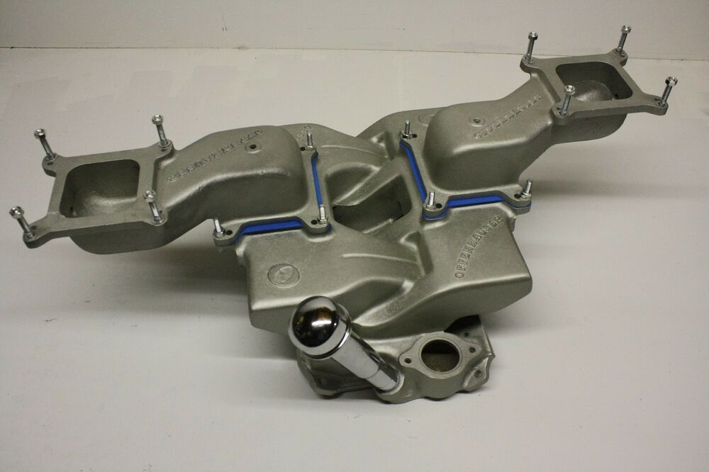Small Block Chevy Cross Ram Intake Manifold Extensions Oil