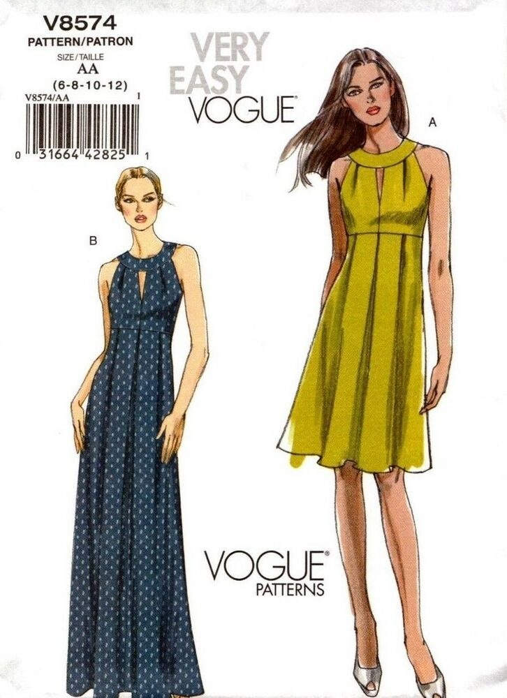 Vogue Sewing Pattern V8574 8574