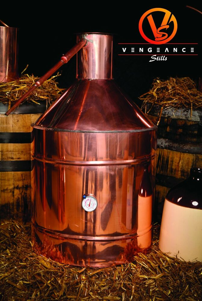 20 Gallon ELECTRIC Copper Whiskey Moonshine Liquor Still ...