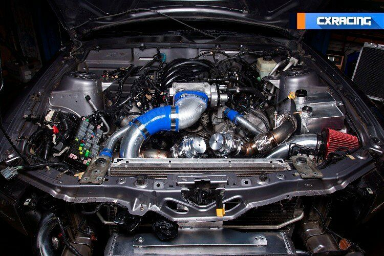 Cx Turbo Header Manifold Downpipe Kit For 05 14 Ford