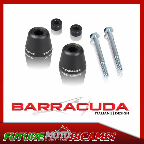 BARRACUDA KIT TAMPONI PARATELAIO HONDA HORNET 600 2005-2006 SAVE CARTER